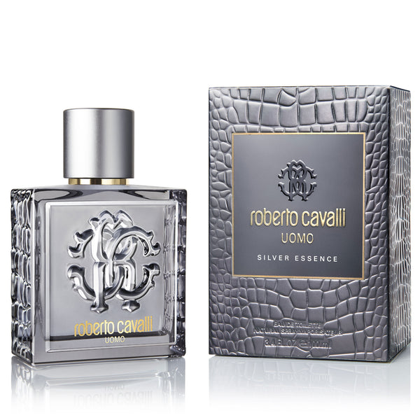 Uomo Silver Essence by Roberto Cavalli 100ml EDT