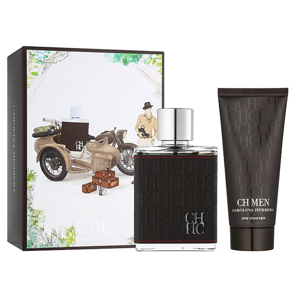 CH Men by Carolina Herrera 100ml EDT 2 Piece Gift Set
