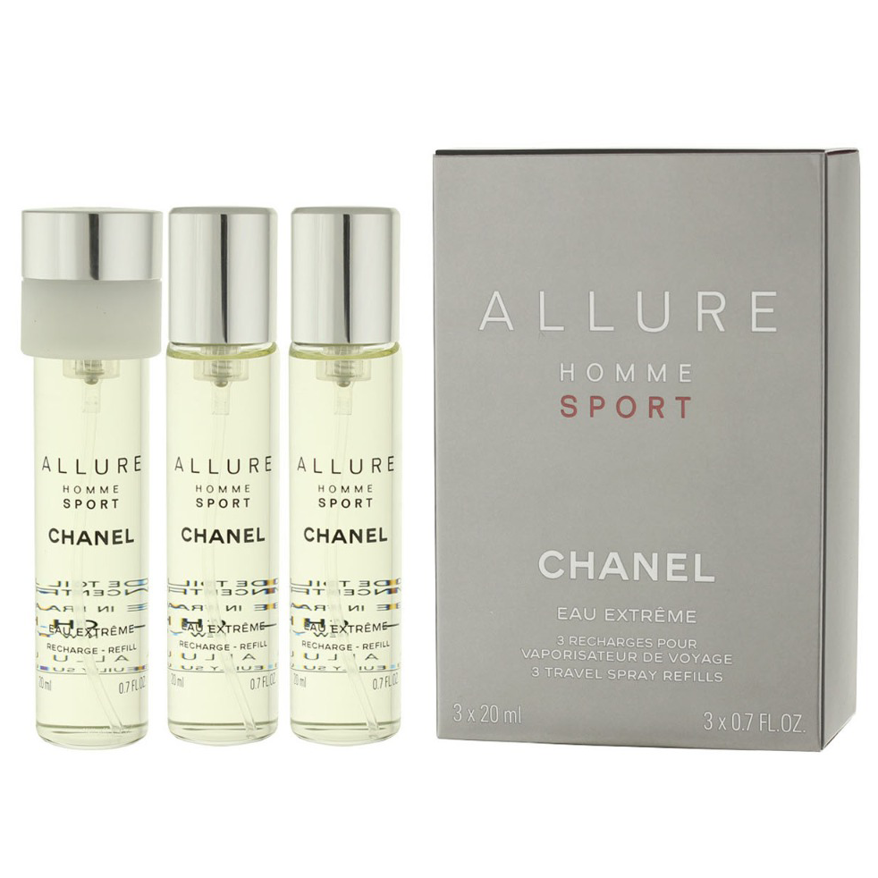 1a83086297c3 Allure Homme Sport Extreme by Chanel 3x 20ml EDP Refills | Perfume NZ