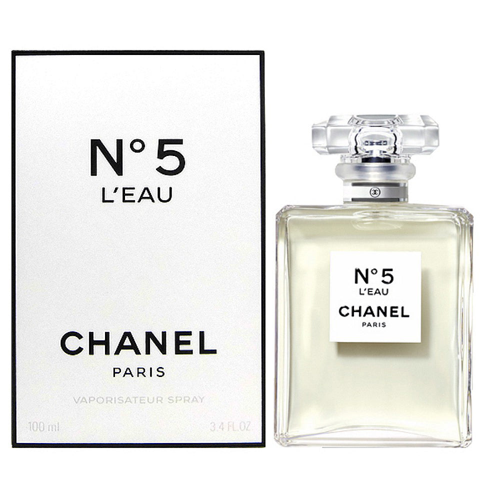 chanel no 5 l 39 eau by chanel 100ml edt perfume nz. Black Bedroom Furniture Sets. Home Design Ideas