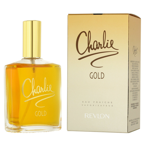 Charlie Gold by Revlon 100ml Eau Fraiche for Women