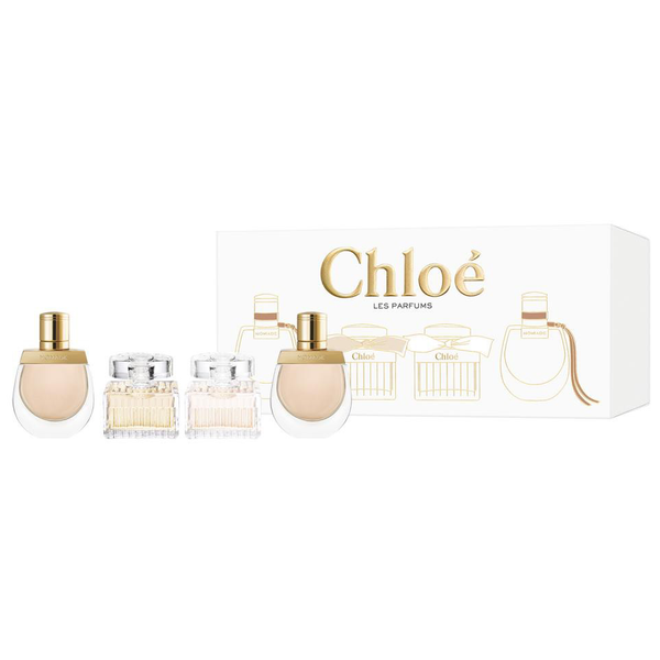 Chloe Les Parfums Collection by Chloe 4 Piece Gift Set