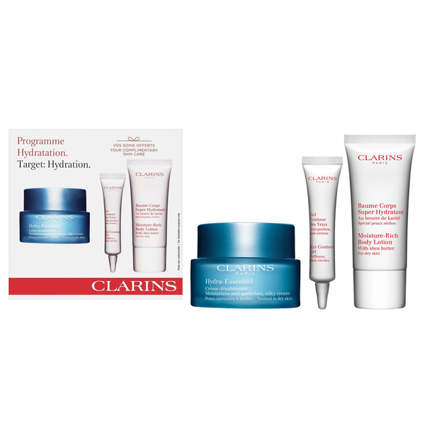 Clarins Hydra-Essentiel Collection 3 Piece Set