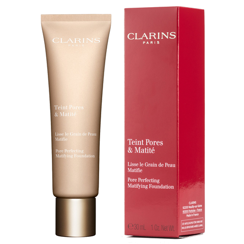 Clarins Pore Perfecting Matifying Foundation 30ml