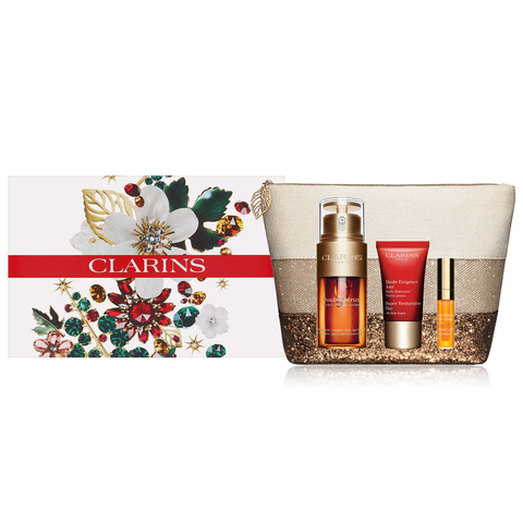 Clarins Double Serum Collection 4 Piece Set