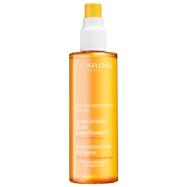Clarins Sunscreen Care Oil Spray Broad Spectrum SPF 30 150ml