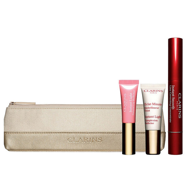 Clarins Instant Smoothing Essentials 4 Piece Set