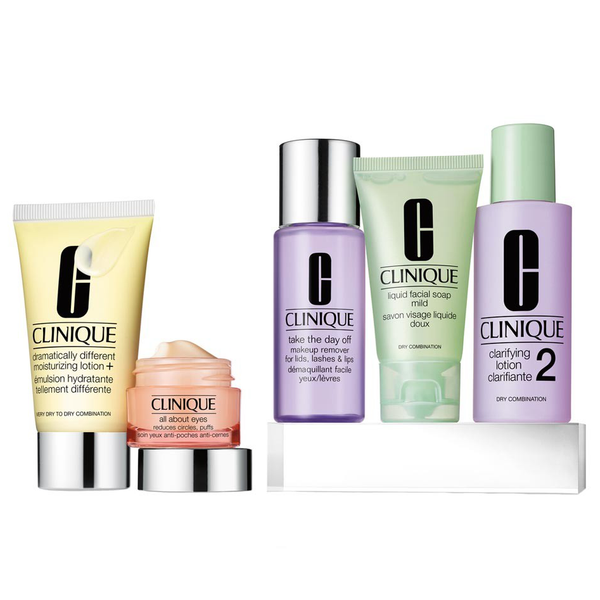 Clinique Daily Essentials 5 Piece Set - Dry To Combination Skin