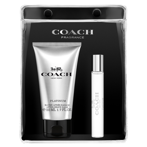 Coach Platinum by Coach 7.5ml EDP 3 Piece Gift Set