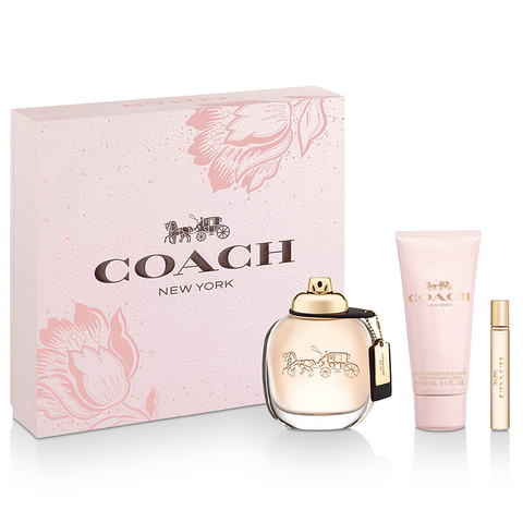 Coach by Coach 90ml EDP 3 Piece Gift Set for Women