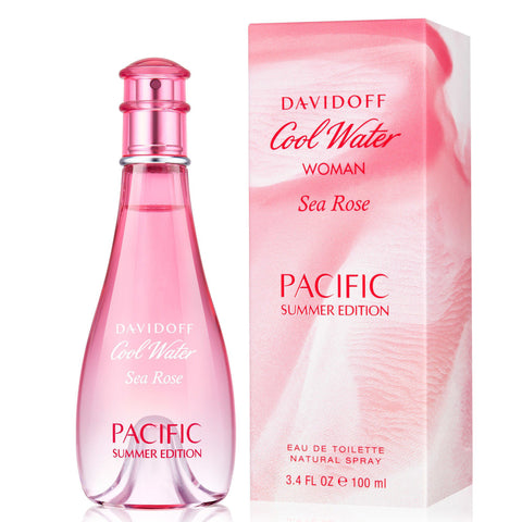 Cool Water Sea Rose Pacific Summer by Davidoff 100ml EDT