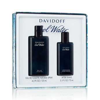 Cool Water by Davidoff  125ml EDT 2 Piece Gift Set
