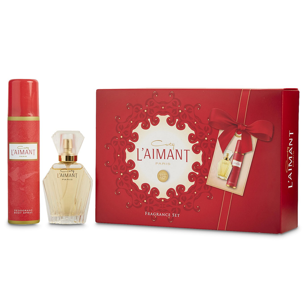 L'Aimant by Coty 30ml PDT 2 Piece Gift Set