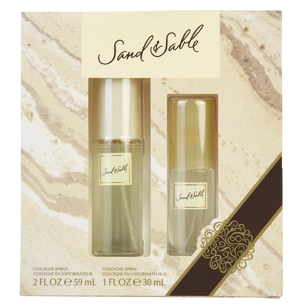 Sand & Sable by Coty 59ml Cologne 2 Piece Gift Set