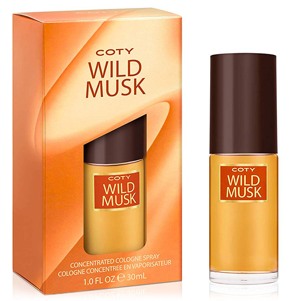 Wild Musk by Coty 30ml Concentrated Cologne Spray