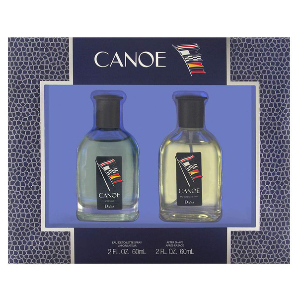 Canoe by Dana 60ml EDT 2 Piece Gift Set for Men