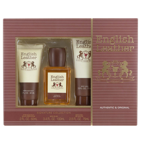 English Leather by Dana 100ml 3 Piece Gift Set