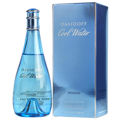 Cool Water by Davidoff 200ml EDT for Women