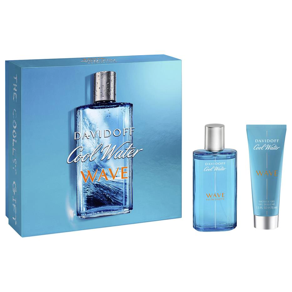 Cool Water Wave By Davidoff 125ml Edt 2 Piece Gift Set Perfume Nz