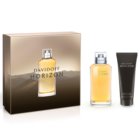 Horizon by Davidoff 125ml EDT 2 Piece Gift Set