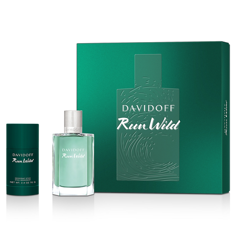 Run Wild by Davidoff 100ml EDT 2 Piece Gift Set