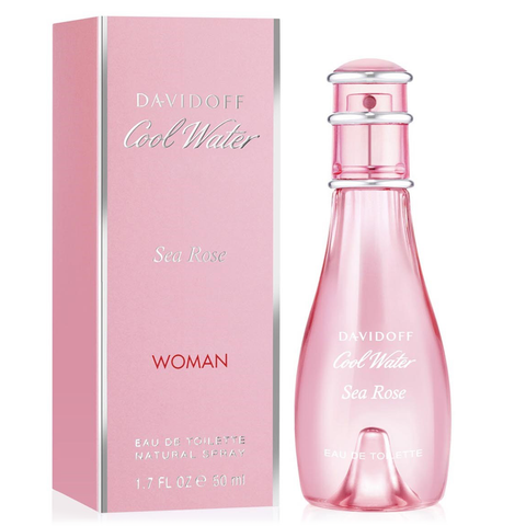 Cool Water Sea Rose by Davidoff 50ml EDT