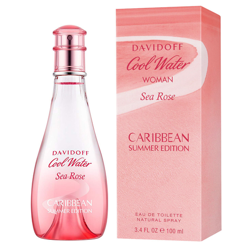 Cool Water Sea Rose Caribbean Summer by Davidoff 100ml EDT