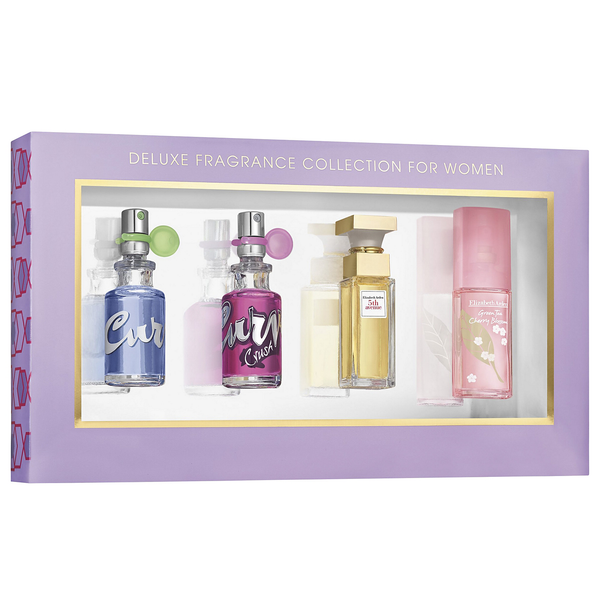 Deluxe Fragrance Collection 4 Piece Gift Set for Women