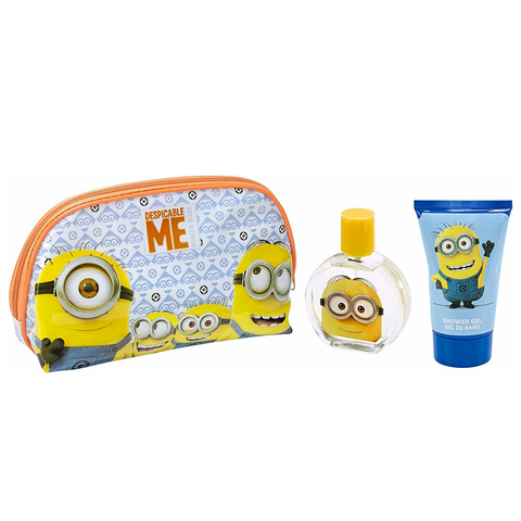 Despicable Me 50ml EDT 3 Piece Gift Set for Kids