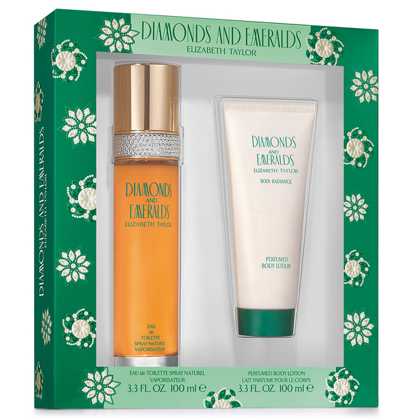 Diamonds & Emeralds 100ml EDT 2 Piece Gift Set