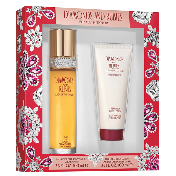 Diamonds & Rubies 100ml EDT 2 Piece Gift Set