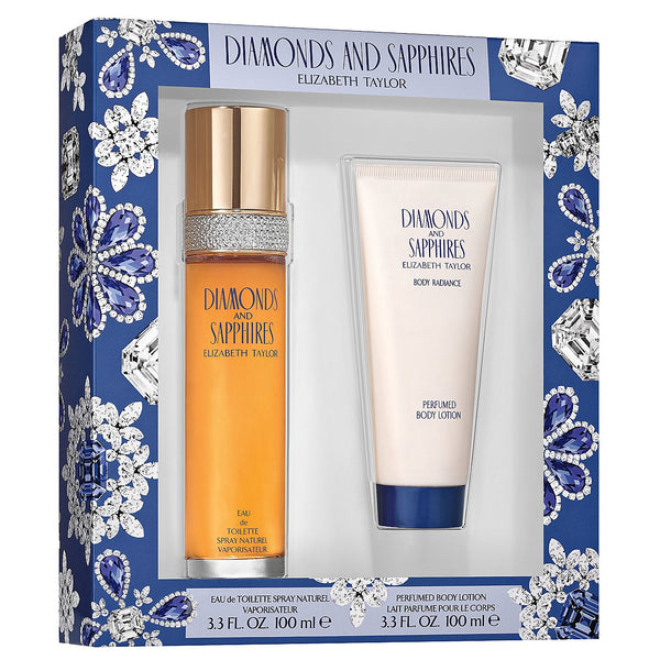 Diamonds & Sapphires 100ml EDT 2pc Gift Set