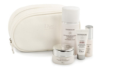 Christian Dior Snow White Reveal 5 Piece Travel Gift Set