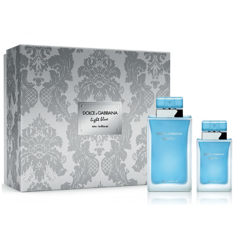 Light Blue Eau Intense by D&G 100ml EDP 2 Piece Gift Set