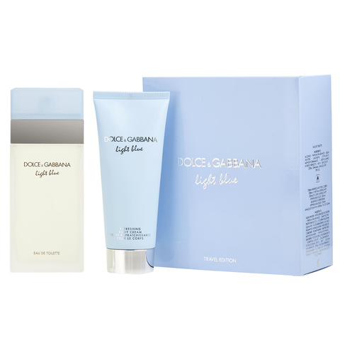 Light Blue by Dolce & Gabbana 100ml EDT 2 Piece Gift Set