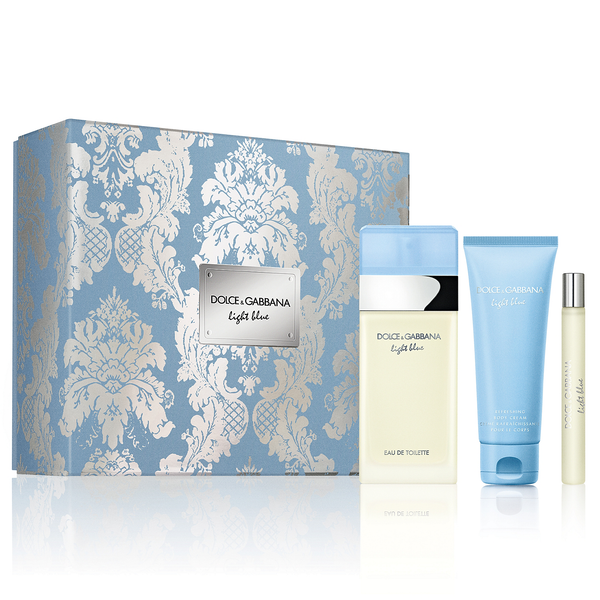 Light Blue by Dolce & Gabbana 100ml EDT 3 Piece Gift Set