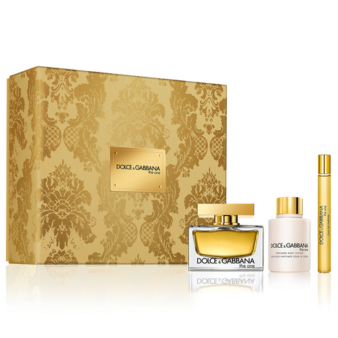 The One by Dolce & Gabbana 75ml EDP 3 Piece Gift Set