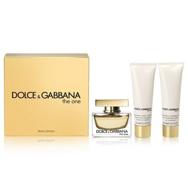 The One by Dolce & Gabbana 75ml EDP 3 Piece Travel Set