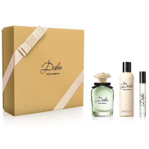 Dolce by Dolce & Gabbana 75ml EDP 3 Piece Gift Set