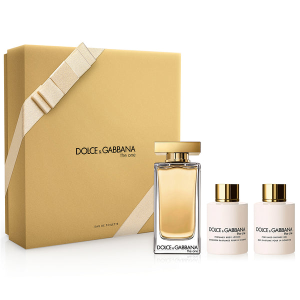 The One by Dolce & Gabbana 100ml EDT 3 Piece Gift Set