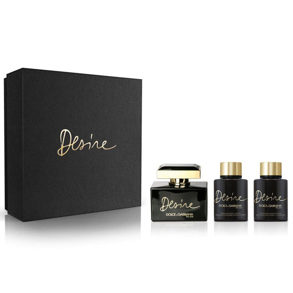 The One Desire by Dolce & Gabbana 75ml 3 Piece Gift Set