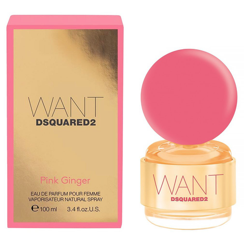Want Pink Ginger by Dsquared2 100ml EDP