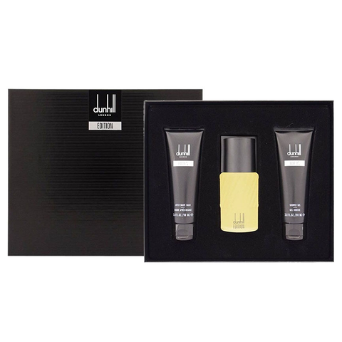 Dunhill Edition by Dunhill 100ml EDT 3 Piece Gift Set