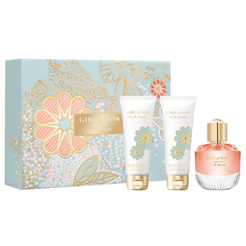 Girl Of Now Forever by Elie Saab 50ml EDP 3 Piece Gift Set