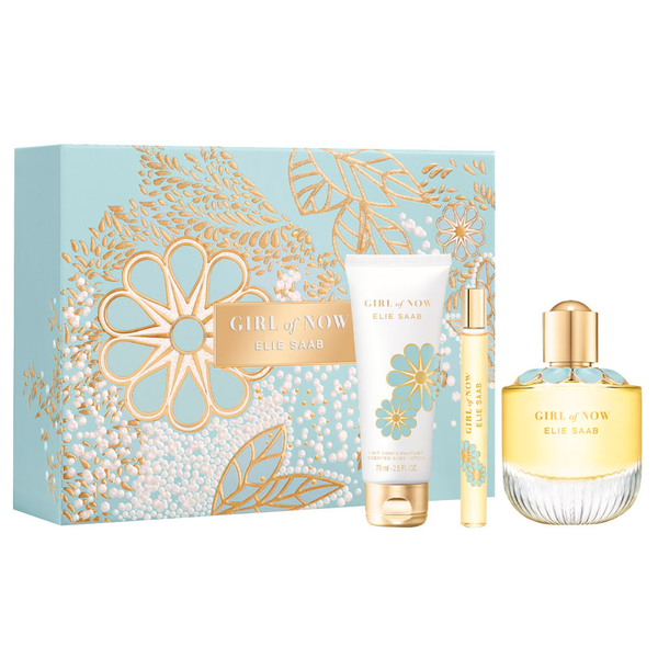Girl Of Now by Elie Saab 90ml EDP 3 Piece Gift Set