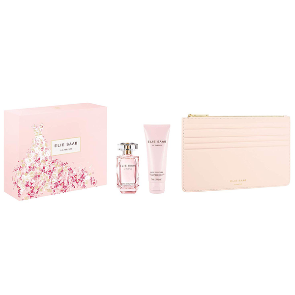 Elie Saab Rose Couture 50ml EDT 3 Piece Gift Set