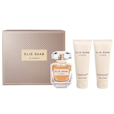 Elie Saab Le Parfum Intense 90ml EDP 3 Piece Gift Set