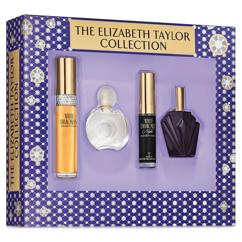 The Elizabeth Taylor Perfume Collection 4 Piece Gift Set