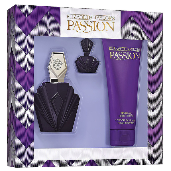 Passion by Elizabeth Taylor 74ml EDT 3 Piece Gift Set