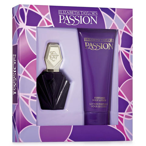 Passion by Elizabeth Taylor 44ml EDT 2 Piece Gift Set